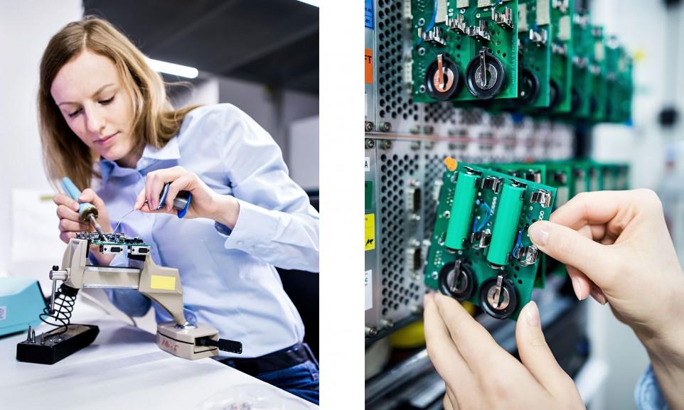 In Nürnberg betreibt der TÜV Rheinland ein Labor zur Sicherheitsprüfung von Batterien und Akkus unterschiedlichster Bauart und Größe