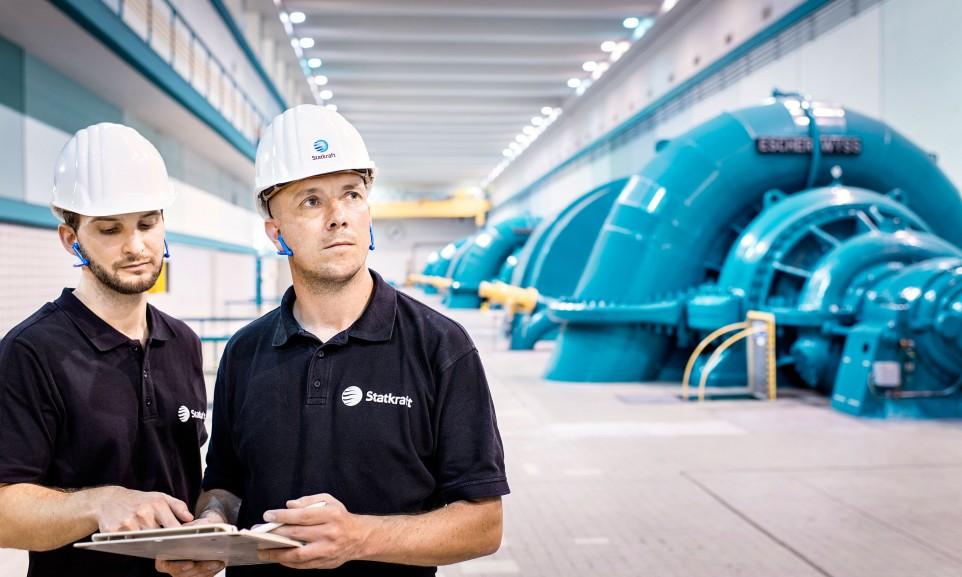 Statkraft Pumpspeicherkraftwerk / Erzhausen