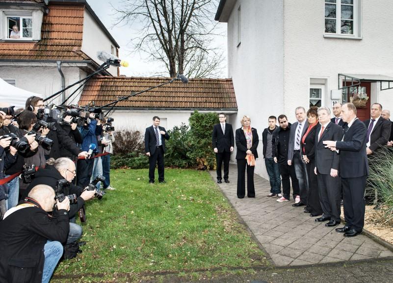 Hannelore Kraft mit Joachim Gauck 2013