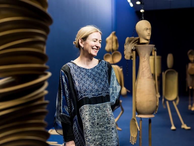 Marion Ackermann, Generaldirektorin der Staatlichen Kunstsammlungen Dresden für Cicero