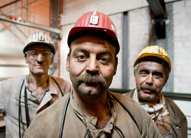 miners in North Rhine-Westphalia for Der Spiegel