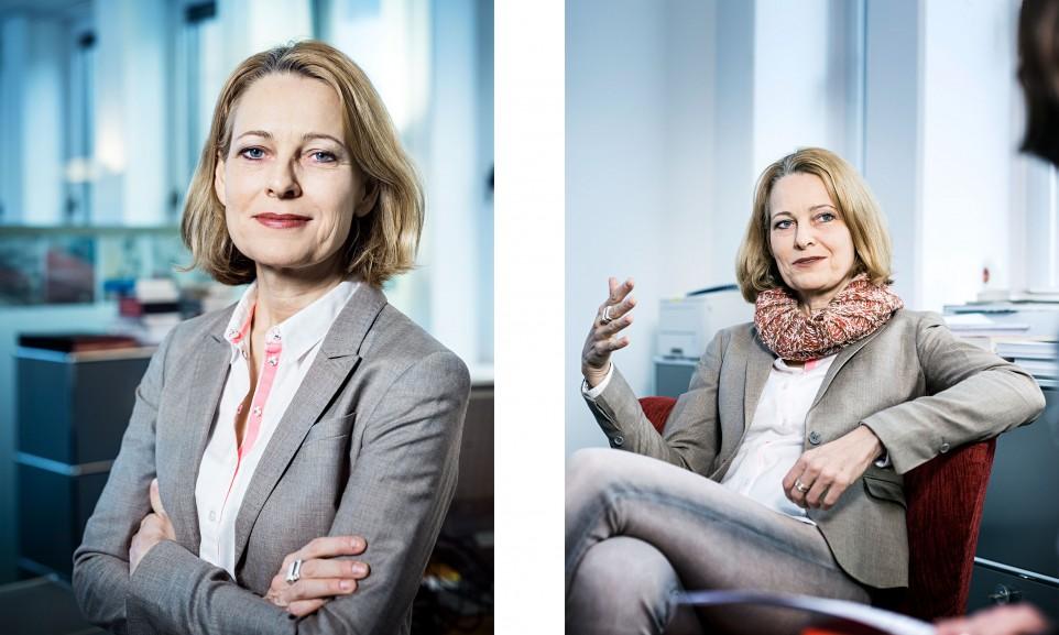 Miriam Meckel, Herausgeberin der Wirtschaftswoche // Der Spiegel