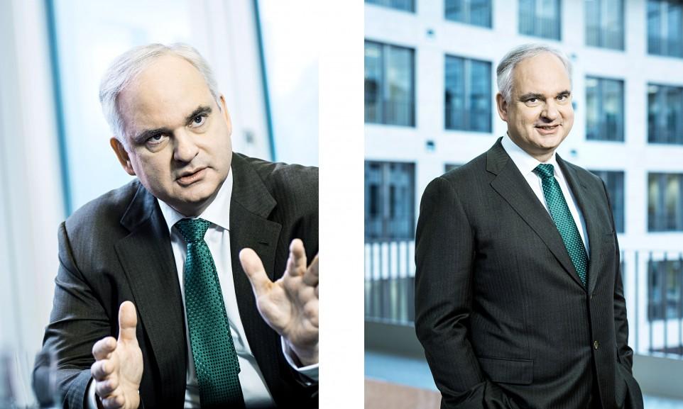 Johannes Teyssen, CEO E.ON für Der Spiegel