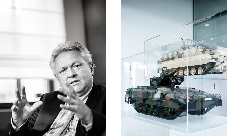 Armin Papperger, CEO Rheinmetall AG für Manager Magazin