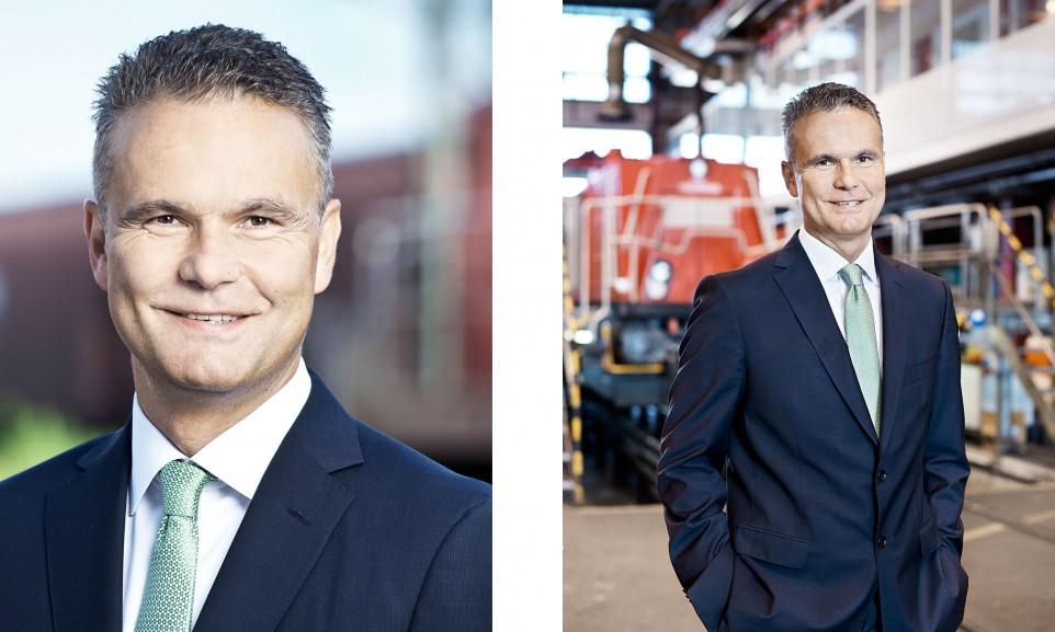 Axel Marschall, CEO DB Cargo für Railways / DB Cargo