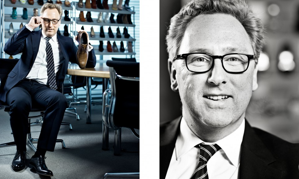 Heinrich Deichmann, CEO Deichmann SE für Der Spiegel