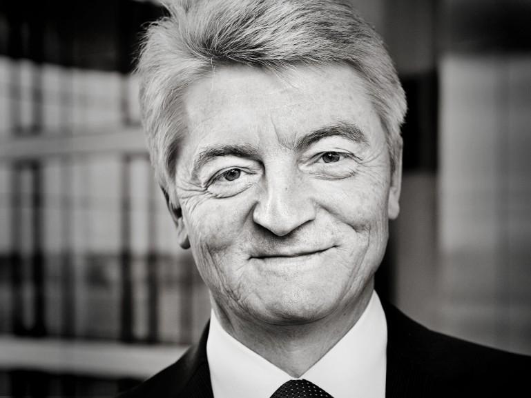 Heinrich Hiesiger, CEO ThyssenKrupp AG for Der Spiegel