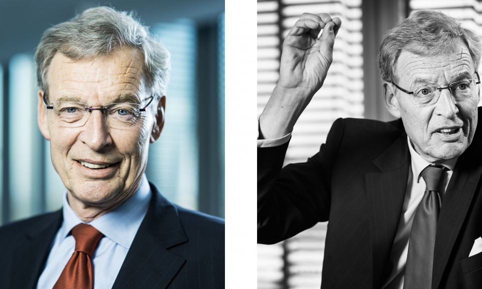 Dr. Gerhard Cromme, Aufsichtsratsvorsitzender der Siemens AG für Der Spiegel
