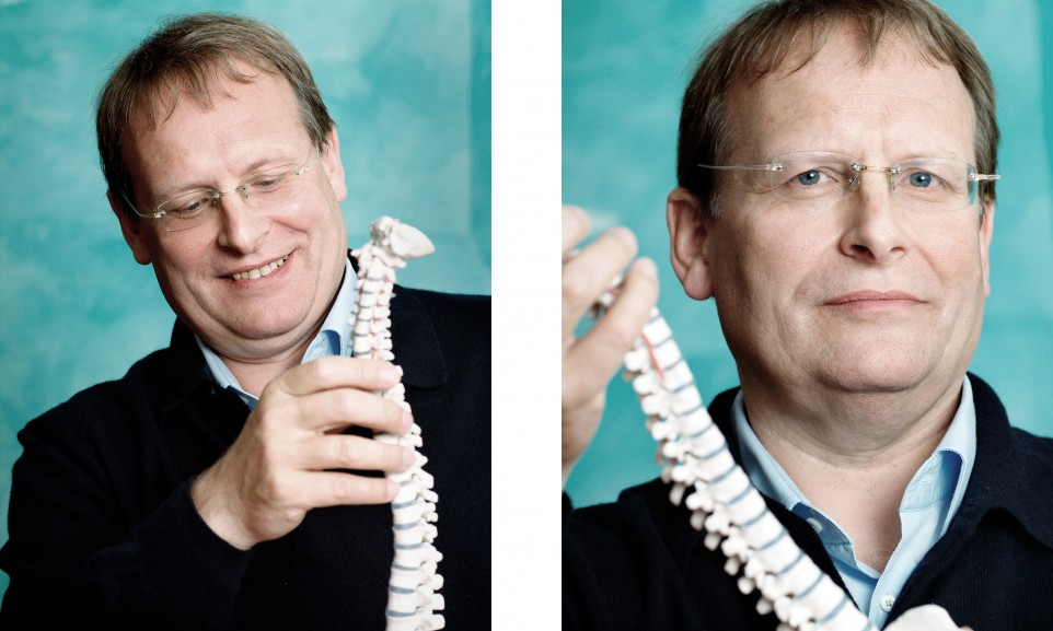 Prof. Dietrich Grönemeyer, Radiologe und Rückenspezialist for Focus magazine