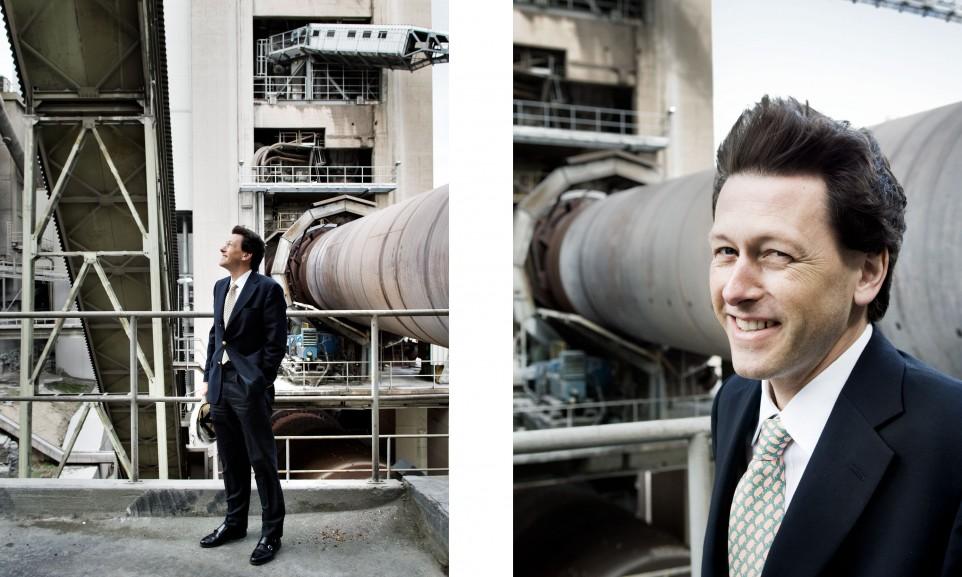 Dirk Spenner, CEO Spenner Zement  für Technology Review