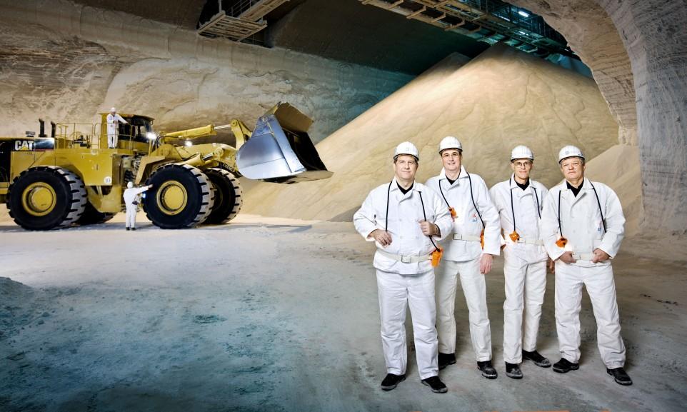 Gruppenbild Vorstand K+S AG für den Geschäftsbericht