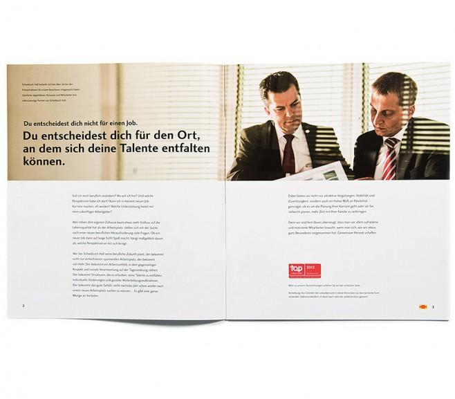 Arbeitgeberkampagne Bausparkasse Schwäbisch Hall / Schwäbisch Hall