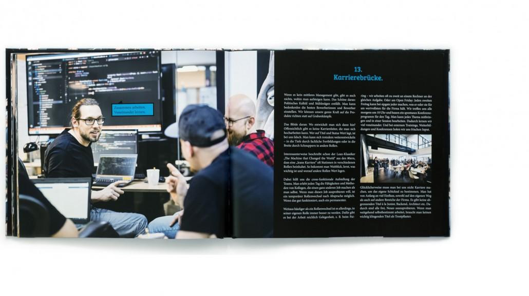 Sipgate Buchprojekt 24 Work Hacks / Düsseldorf