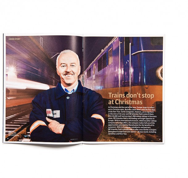 railways DB Cargo - Kundenzeitschrift / Hamburg