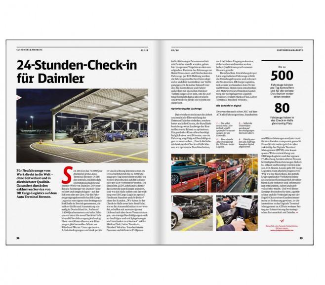 railways DB Cargo - Kundenzeitschrift / Mainz