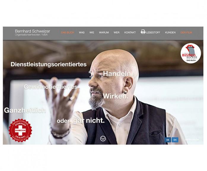 Internetseite Bernhard Schweizer / Thun
