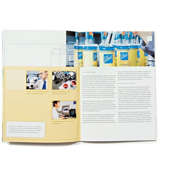 Kundenmagazin Ball Packaging Europe / Ratingen