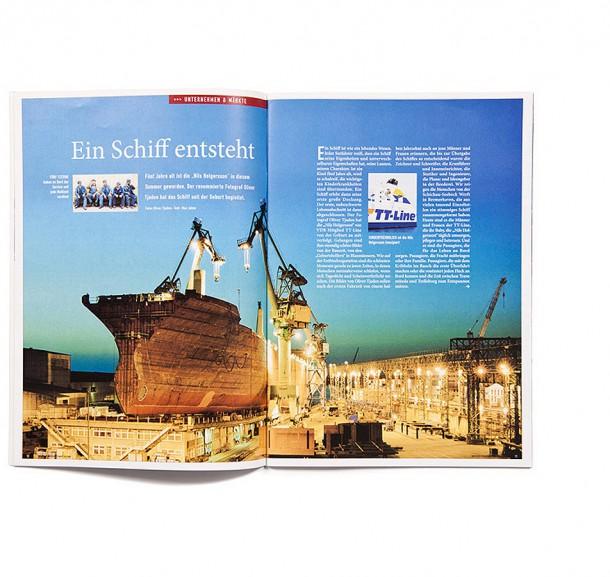 Mitgliederzeitschrift Verband Deutscher Reeder / Hamburg