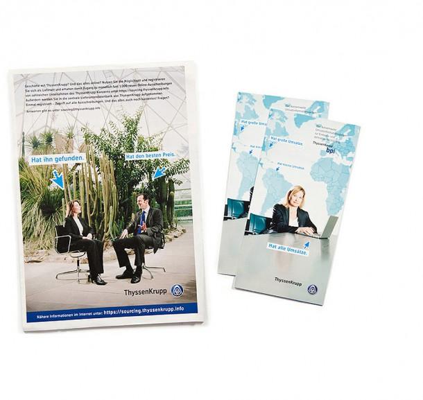 Werbemittel für ThyssenKrupp AG / Essen