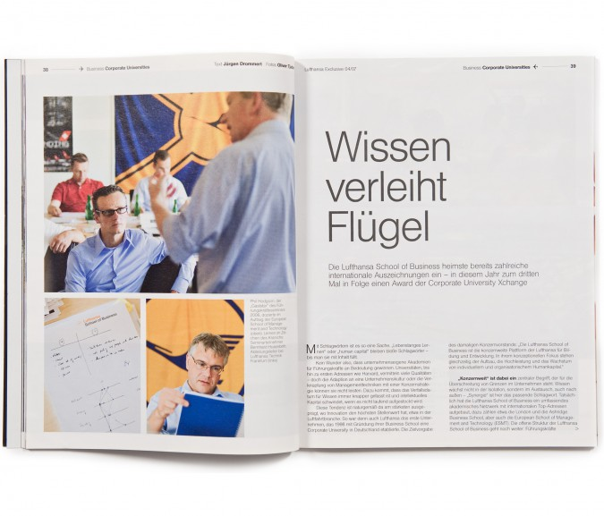 Lufthansa Magazin / Hamburg