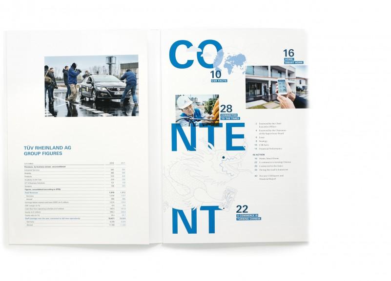 Geschäftsbericht TÜV Rheinland / Köln
