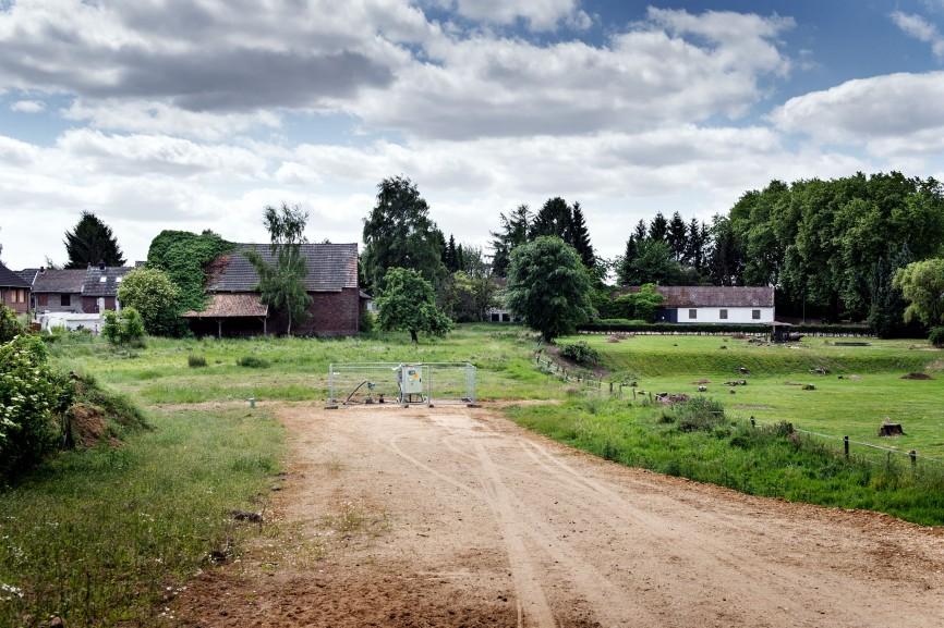 Borschemich, kurz vor dem Abriss des Dorfes, 2015
