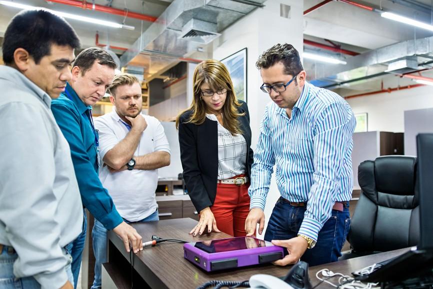 In Lima betreibt der TÜV Rheinland ein Büro zur Organisation der Mitarbeiter in Peru.