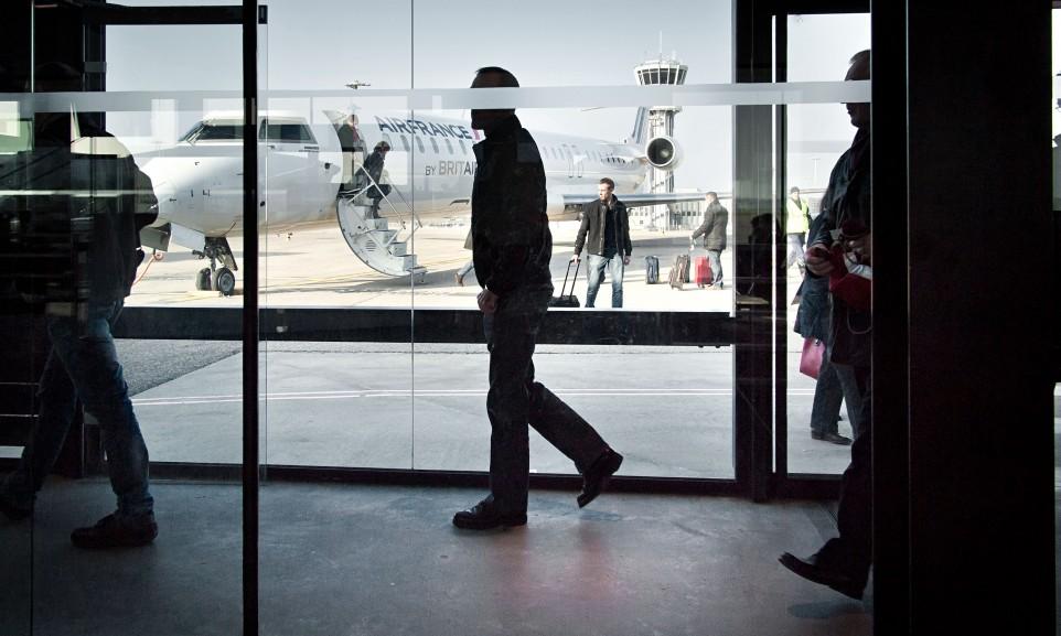 Ankunft in Lyon