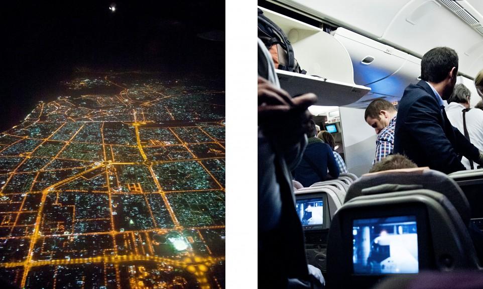 Ankunft in Dubai